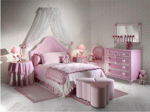 Кращі дитячі спальні для дівчаток
