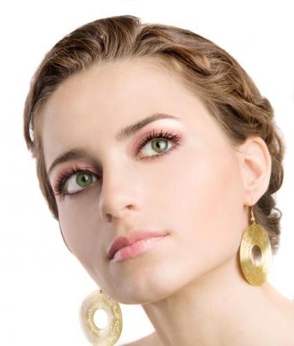 макіяж для зелених очей блондинок