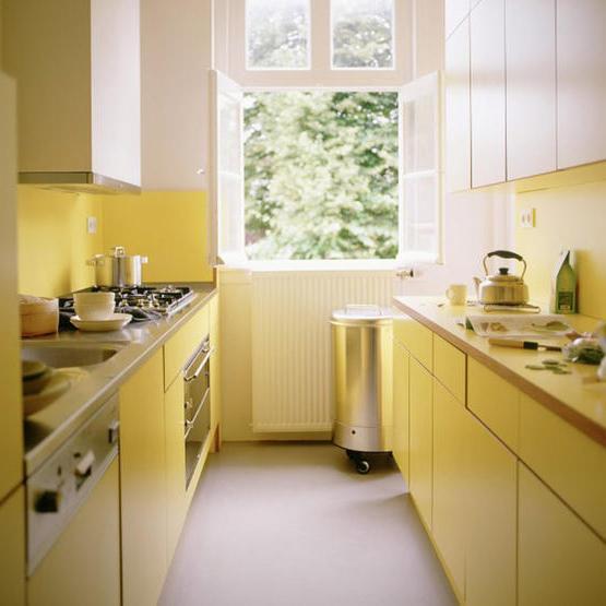 Маленька кухня - як правильно організувати простір