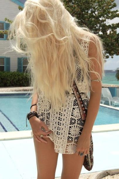 Модні в`язані літні сукні