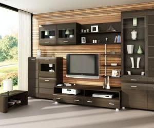 Модульні системи для вітальні - меблі xxi століття