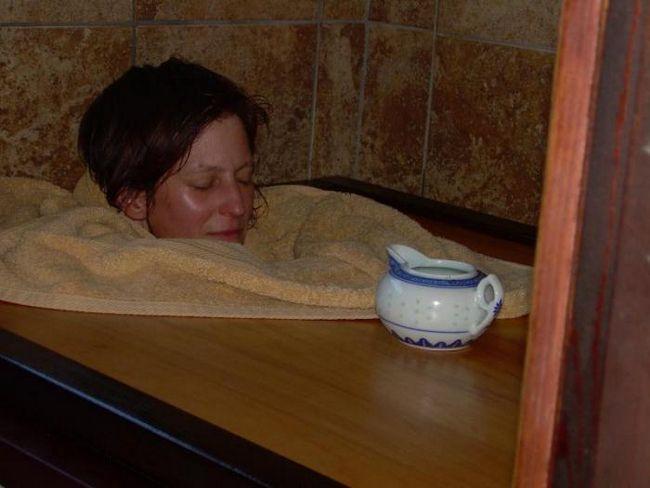 баня лікує застуду