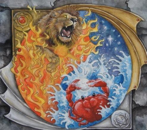 чоловіки раки жінки леви