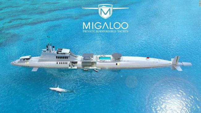Неможливе можливо: розкішна яхта, здатна занурюватися на глибину до 240 метрів