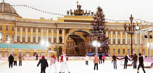 новорічні свята в росії