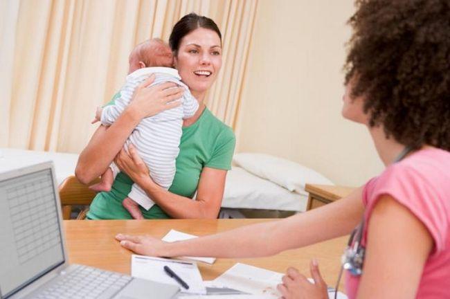 білий наліт на язику новонароджених