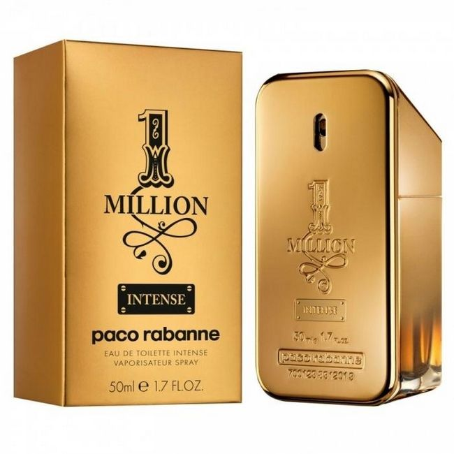 «One million» paco rabanne - парфум справжнього чоловіка