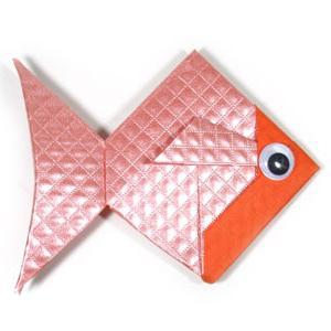 Орігамі рибка своїми руками