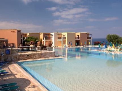 Готель akteon holiday village (кіпр, пафос)