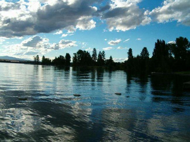 озеро флатхед монтана сша