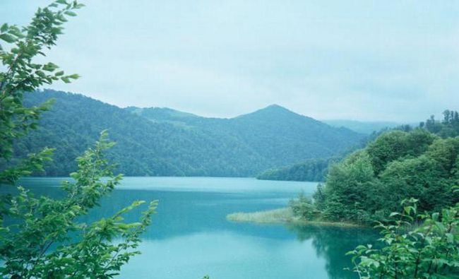 азербайджан озеро гейгель