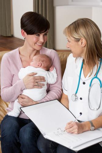 Патронаж новонародженого вдома в перший місяць його життя