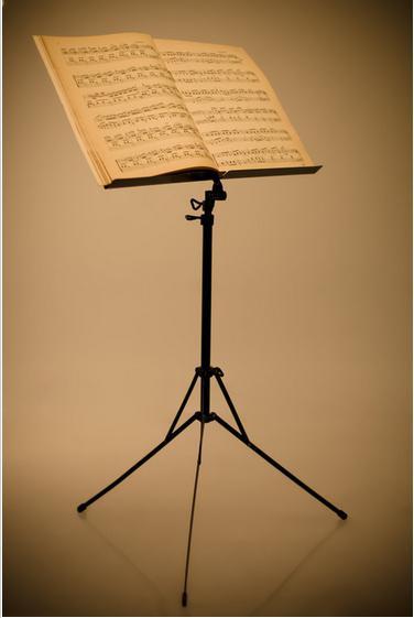 Пюпітр - зручна підставка для нот