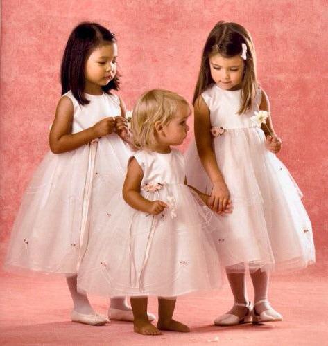 сукні для дітей на весілля