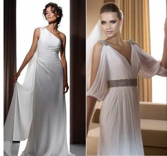 Сукня нареченої в грецькому стилі