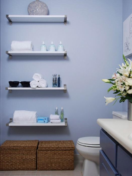 полки для ванної кімнати