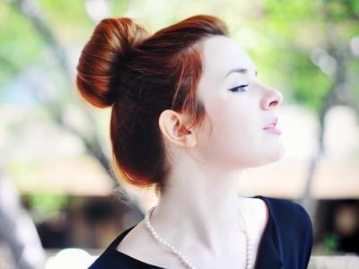 Зачіска пучок - універсально і стильно