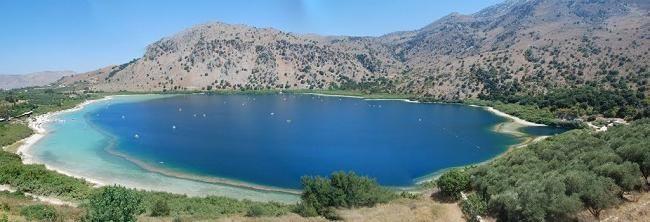 озеро Курнас на мапі
