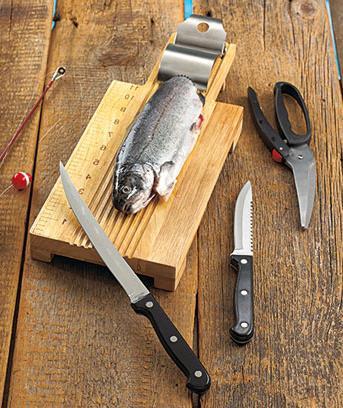 Обробна дошка для риби