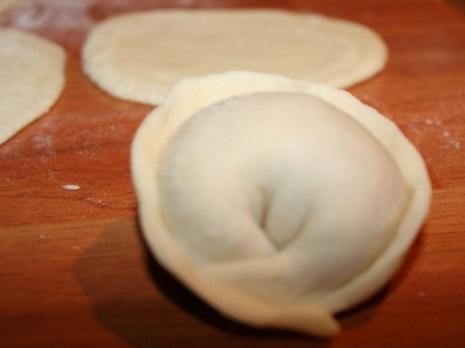 спосіб приготування пельменів
