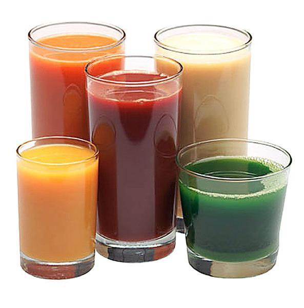 Рецепти свіжих соків для здорового харчування