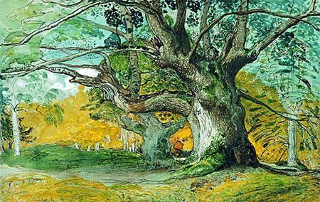 мальовані дерева