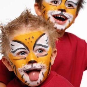 Малюнки на обличчі для дітей, або аквагрим
