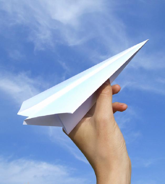 Літачок з паперу