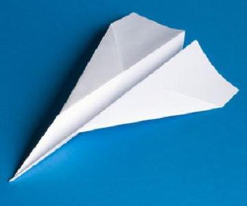 Як робити літачки з паперу