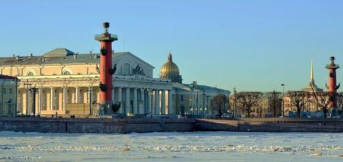 Санкт-петербург. Стрілка василівського острова