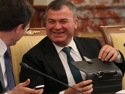 Анатолій Сердюков Герой России