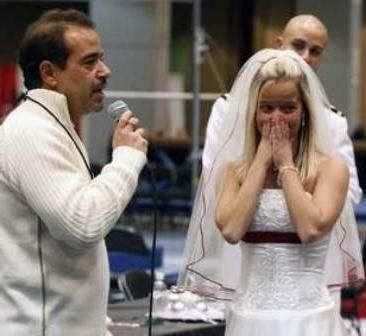 Сюрприз на весілля для другої половинки