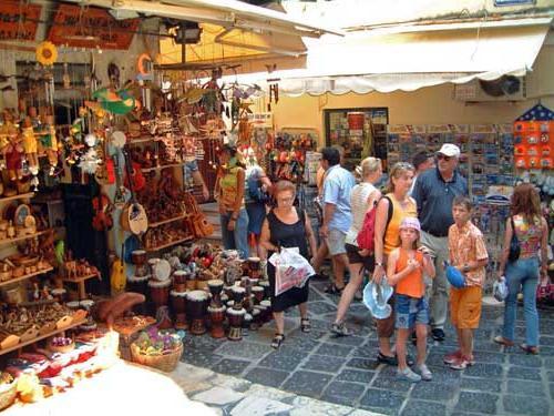 сувенірні магазини Греції