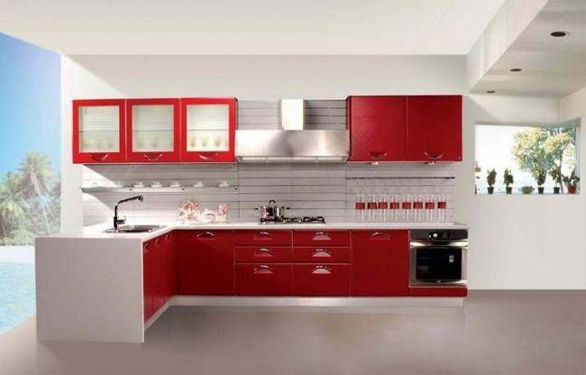 Сучасні кухонні шафи