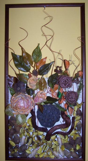 декоративне панно з природного матеріалу