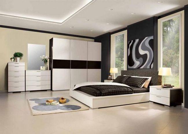 Спальня в стилі модерн