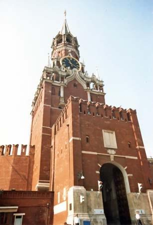 спасская вежа московського кремля
