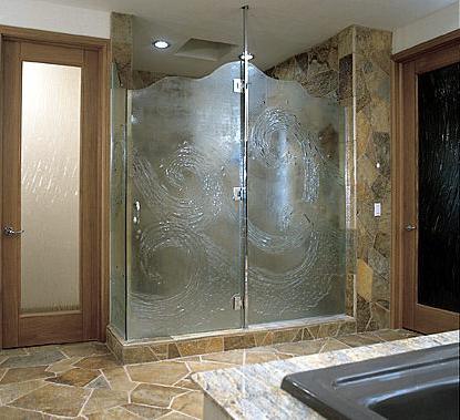 скляні двері для душових кабін