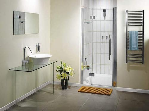 скляні двері для ванної