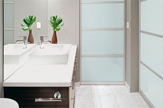 скляні двері для ванної фото