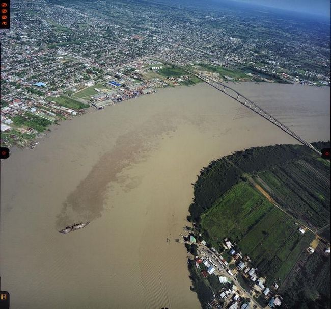Столиця сурінаму - парамарібо