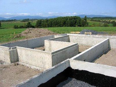 Будівництво фундаментів: основні моменти