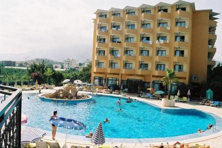 Sunshine hotel 4, кестел, туреччина