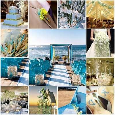 весілля в морському стилі, фото