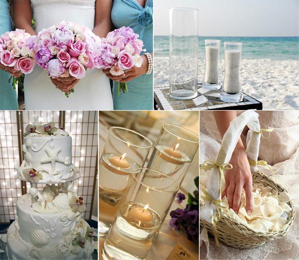 оформлення весілля в морському стилі