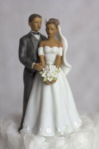 Весільна фігурка на торт: стильний аксесуар