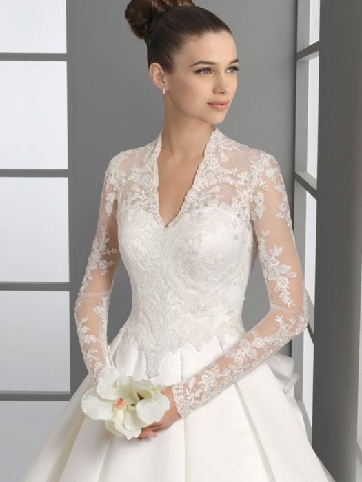 Весільна сукня з закритими плечима, або яку сукню вибрати?
