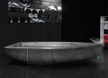 Такі популярні ванни з штучного каменю