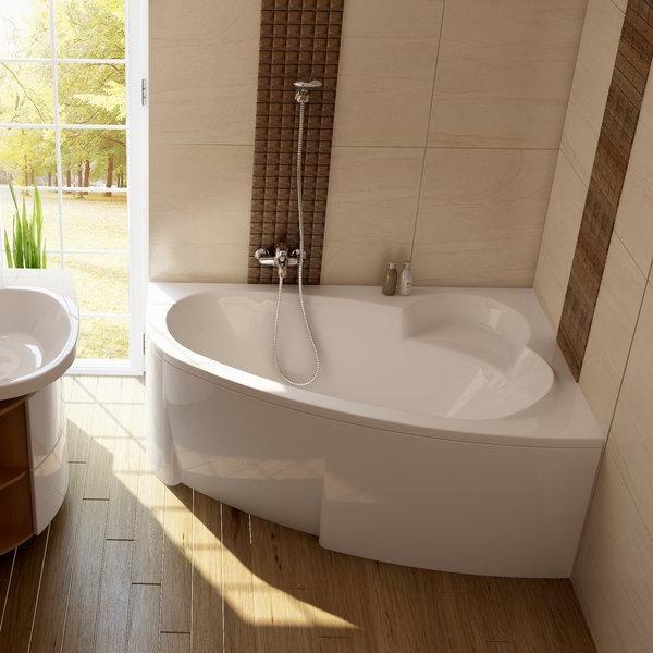 ванна асиметрична акрилова