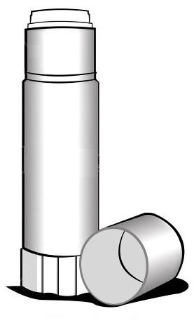 Зручний і простий клеїть олівець - незамінний атрибут офісних канцелярських товарів